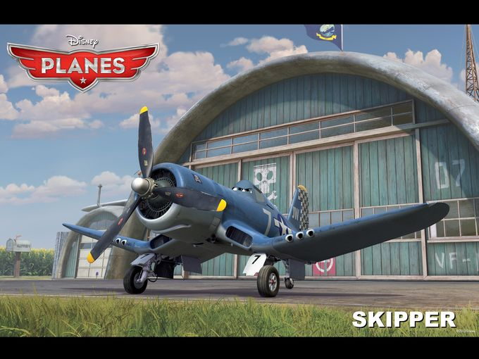Stacy Keach as Skipper in 'Planes'